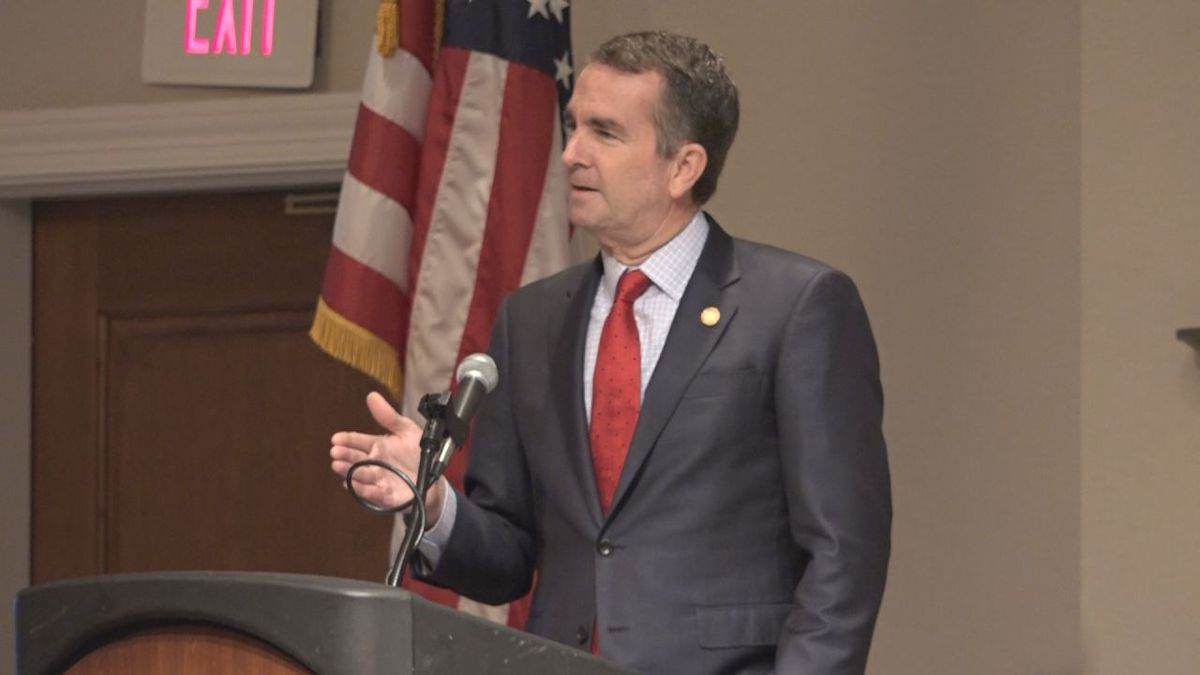 Governor Northam touched on tourism during a speech in Staunton, highlighting Virginia's breweries and vineyards. | Oct. 22, 2018
