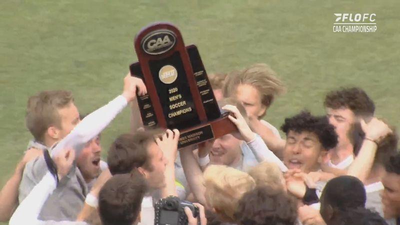 JMU men's soccer wins CAA title (FloFC)