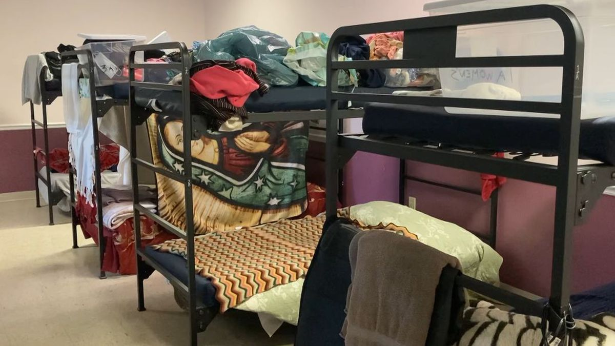 Beds at the Valley Mission in Staunton