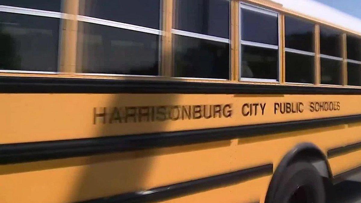 Bus with Harrisonburg City Public Schools (FILE)