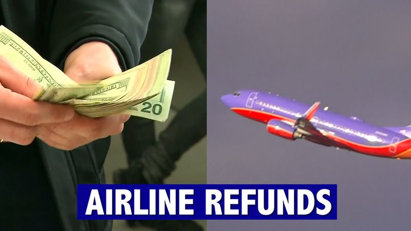 Airports are empty and flights are canceled. So, how do you get your money back? We have...