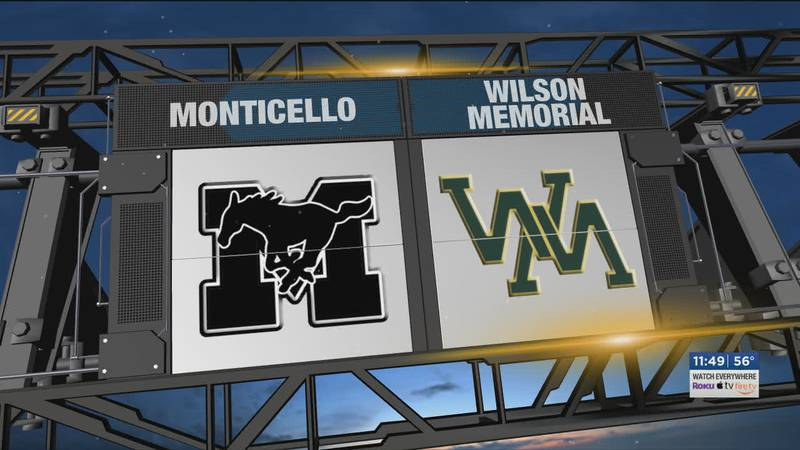 Wilson Memorial played host to Monticello.