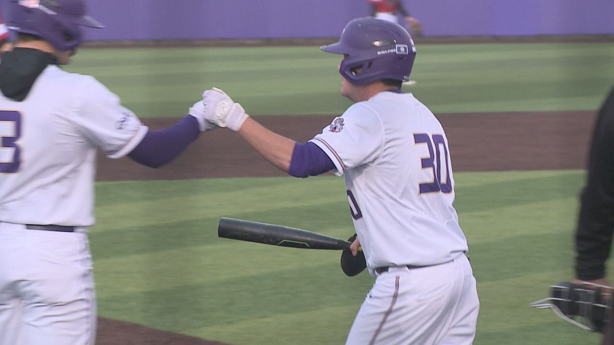 The James Madison baseball team defeated Rider, 8-7, Friday evening for the Dukes' sixth straight win.