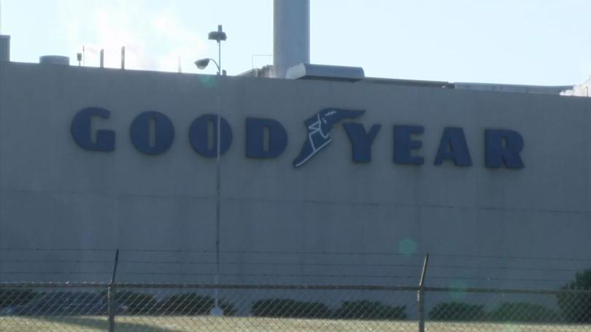 The Goodyear plant in Danville, photo courtesy: WDBJ