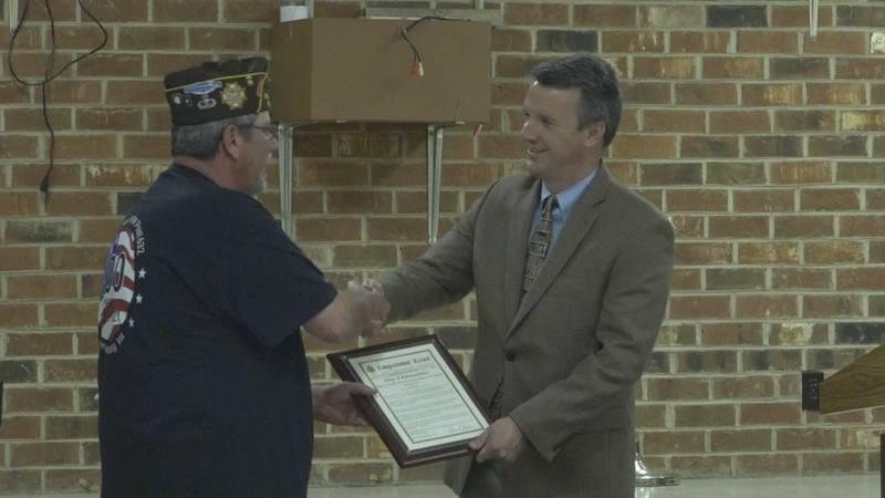 Congressman Ben Cline visits VFW Post 632 in Harrisonburg