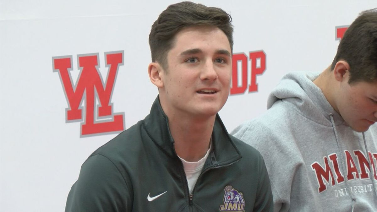Kyle Adams, a quarterback from West Lafayette, Indiana, is excited to join the James Madison...