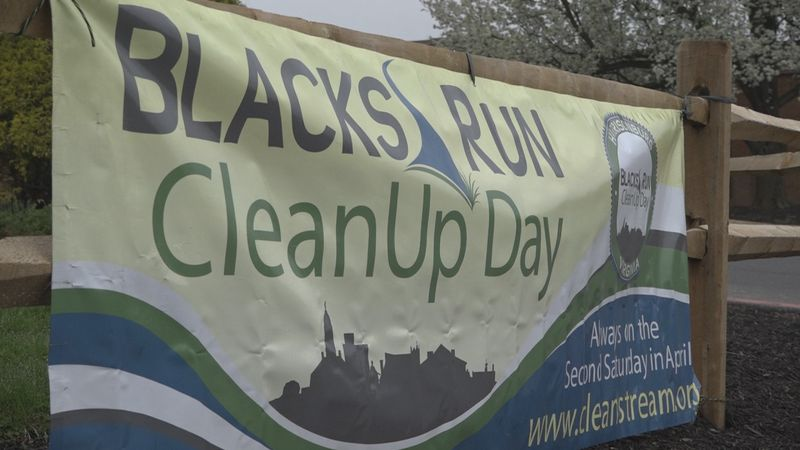 23rd Annual Blacks Run Clean Up Day and Arbor Day tree planting