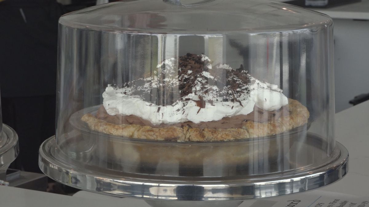 Molly's Mile High Chocolate Pie
