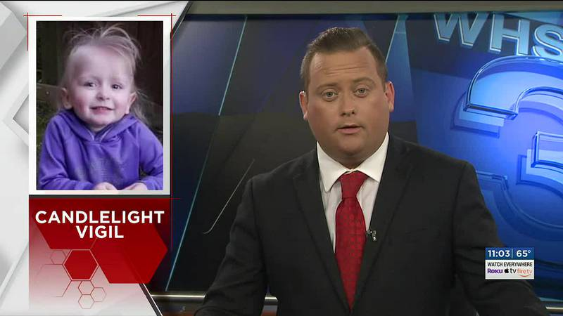 People gather in Verona to remember 3-year-old Khaleesi Cuthriell