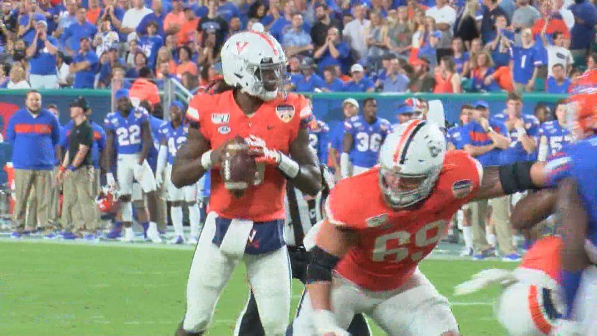 Bryce Perkins during Orange Bowl