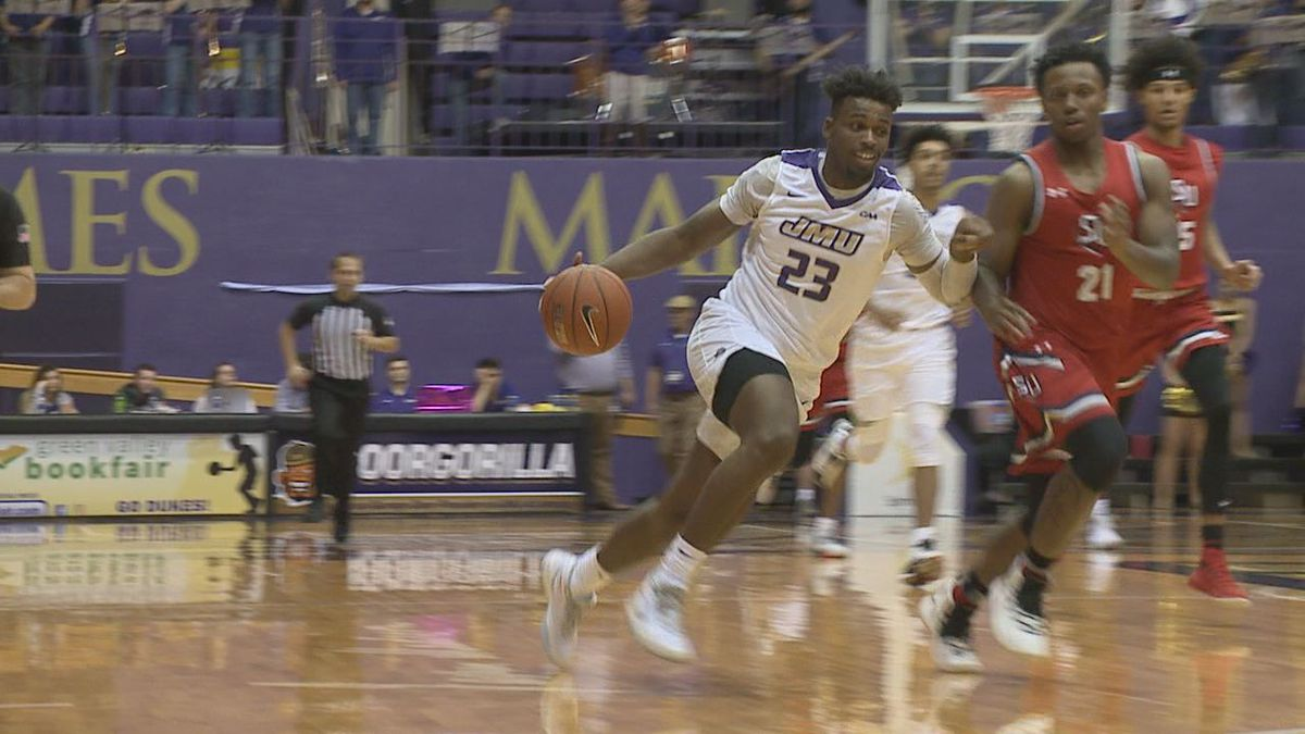 Freshman forward Michael Christmas scored 19 points and grabbed 15 rebounds in JMU's win over Shenandoah Wednesday evening.