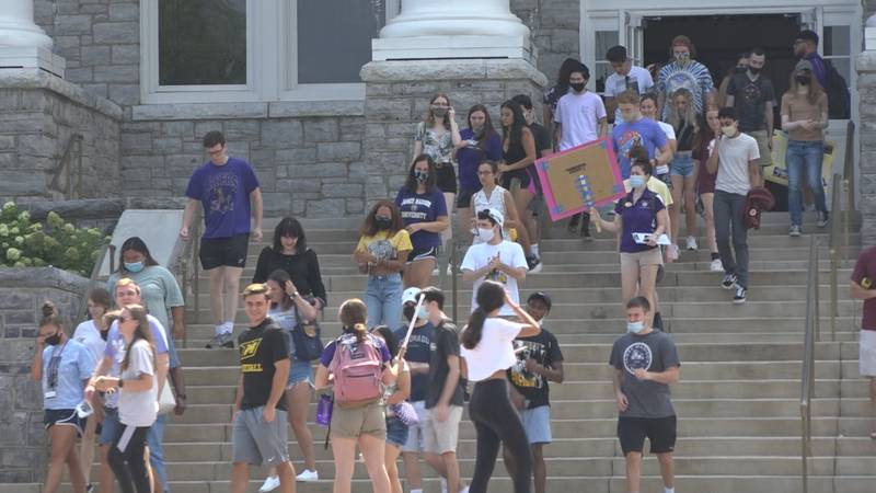 James Madison University starts classes on Wednesday and almost all of its over 21,000 students...