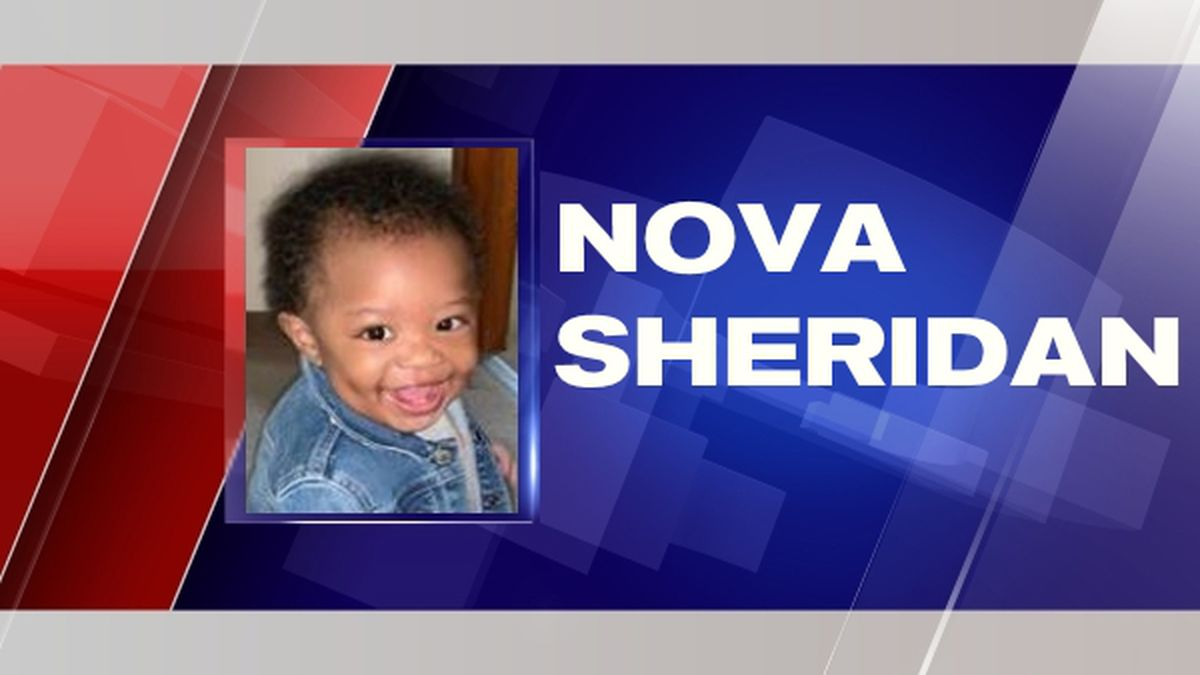 The little girl's name is Nova Sheridan. She was taken from her biological mother's home late Thursday.