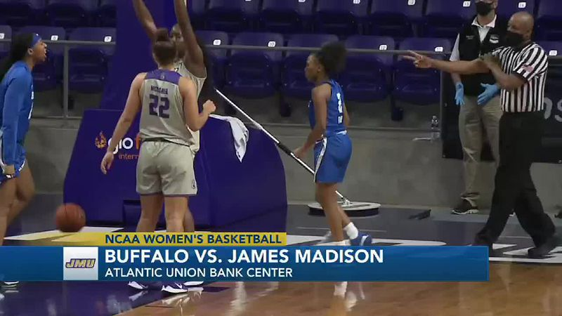Dukes unable to overcome early deficit in loss to Buffalo