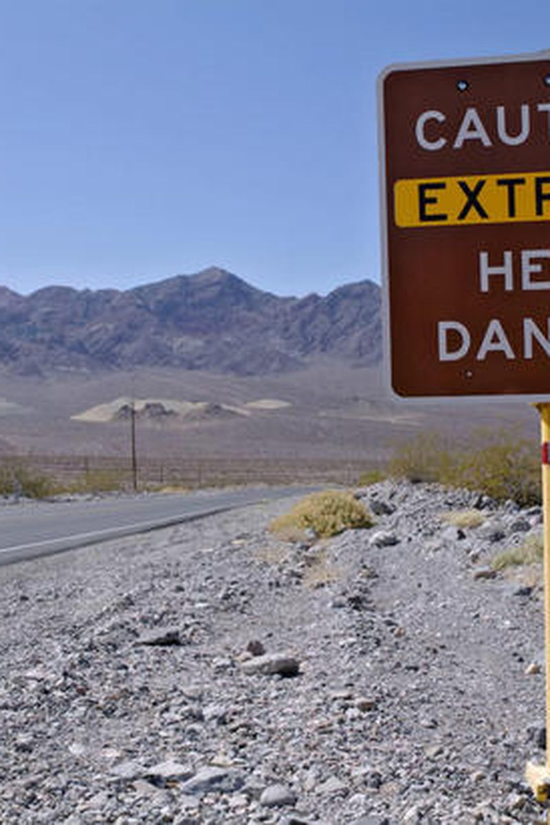 Death Valley Nearly Sets Record As Excessive Heat Continues In The Southwest U S