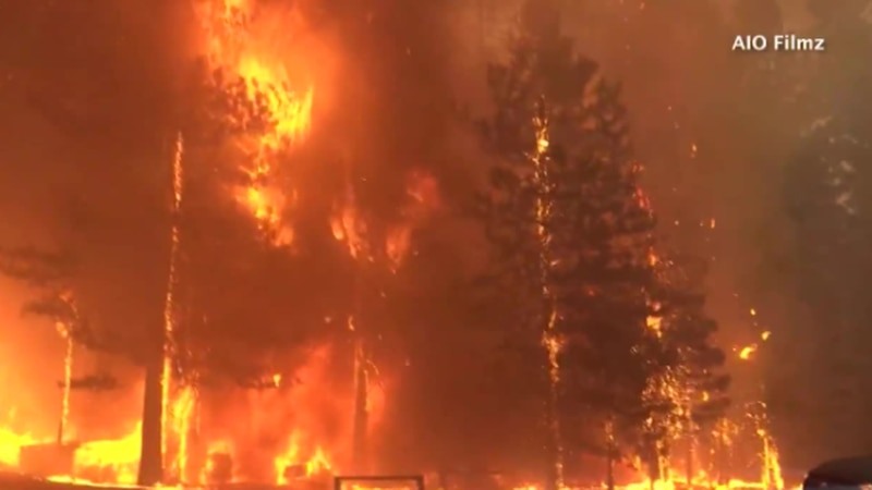 The Dixie Fire wiped out an entire town in California.