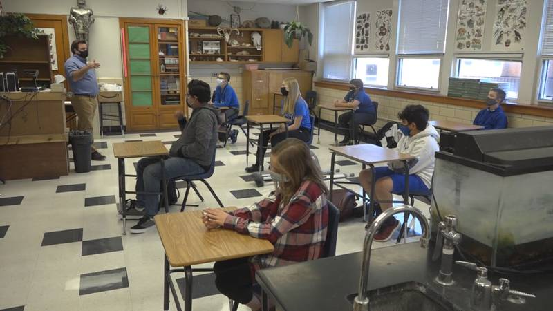 Valley schools continue to practice mask-wearing and good hygiene to prevent the spread of...