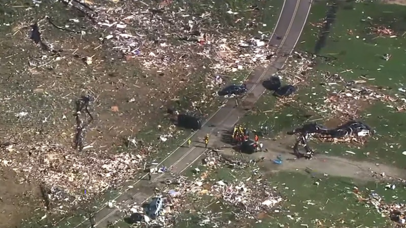 An EF-3 tornado spawned from Isaias ripped through an eastern North Carolina county.