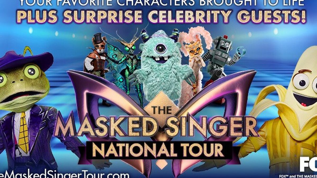 The Masked Singer tour is coming to Richmond in June. (Source: Dominion Energy Center)