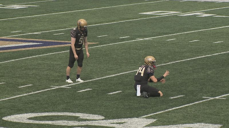 Ethan Ratke has been a reliable kicker for the James Madison football team.