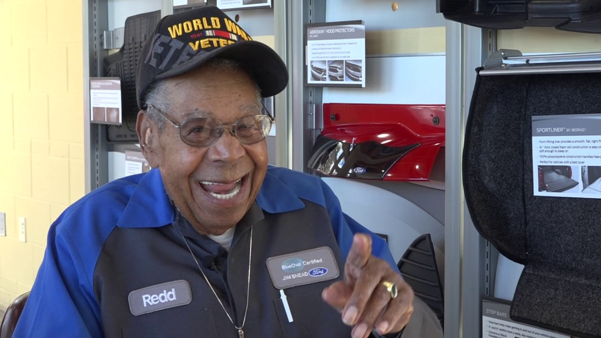 Wallace Redd was recently honored with the Hometown Hero award from Ford.