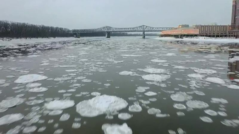 Missouri River north of St. Louis