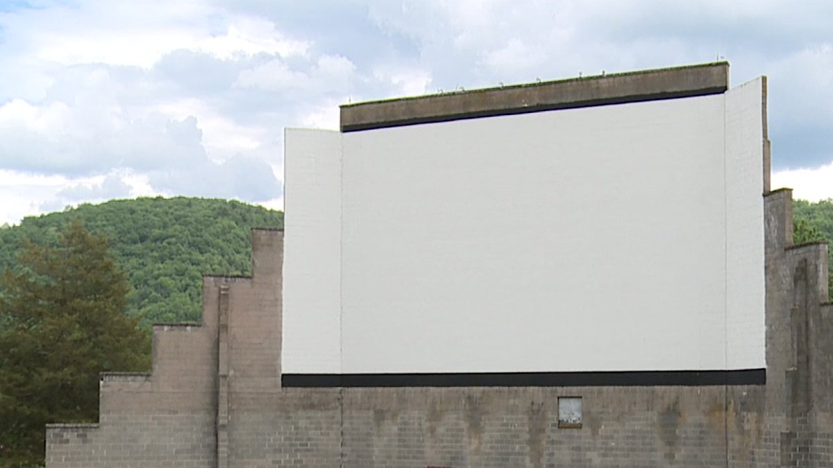 WHSV file image of Warner's Drive-In