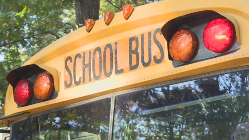File photo of a school bus