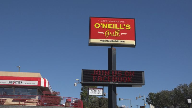 O'Neill's Grill in Harrisonburg is barely hanging on as COVID-19 impacts their business.