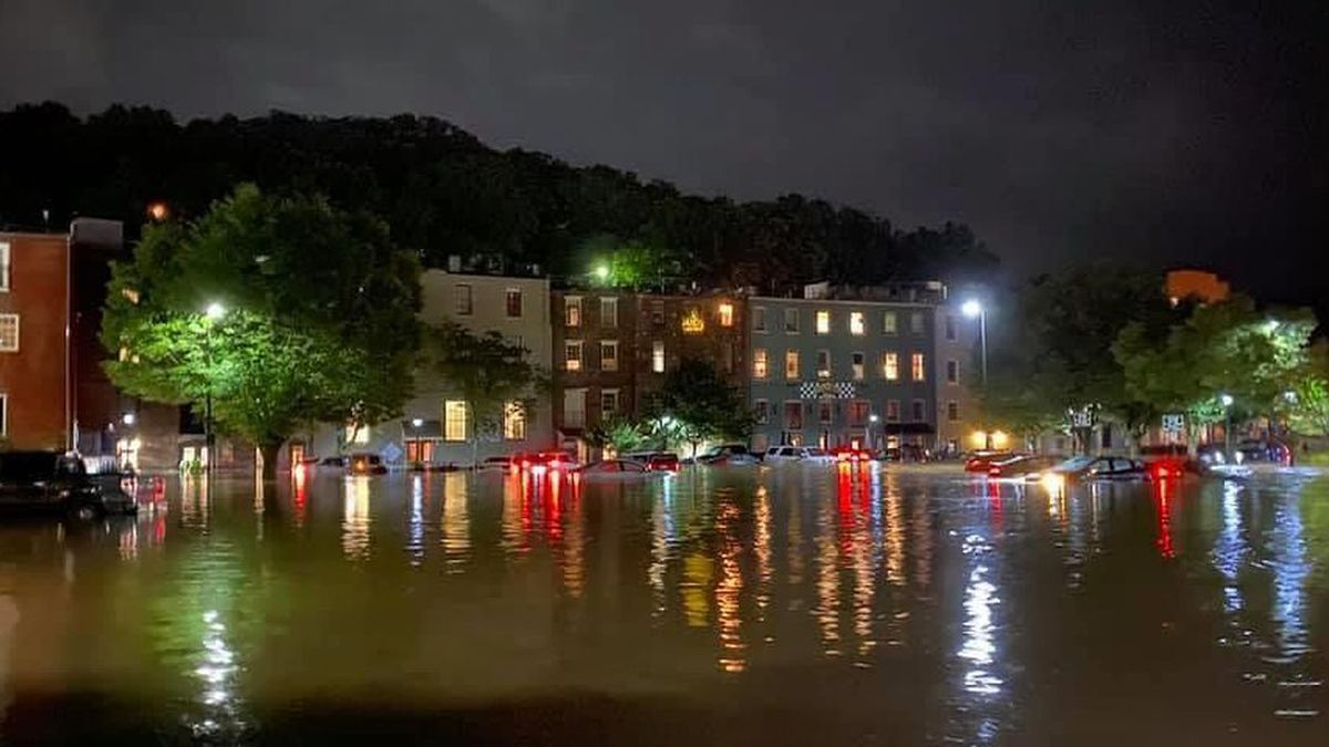 Torrential rain and flooding decimated Staunton residences and businesses and caused millions of dollars of damage in the city.I