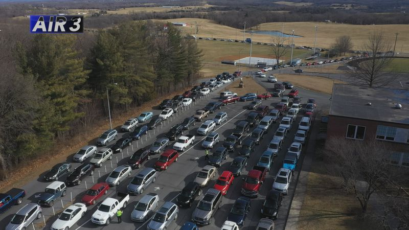 Some drivers said it took them more than two hours to reach the entrance of the schools.
