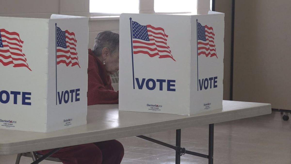 While there will be in-person voting on Tuesday, localities preferred people to vote absentee by mail. | Credit: WHSV
