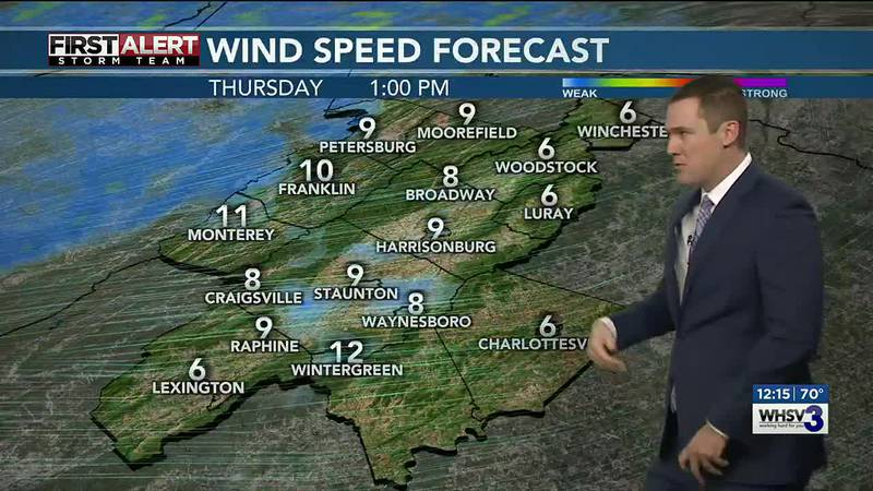 Noon Weather Forecast 10/21/2021