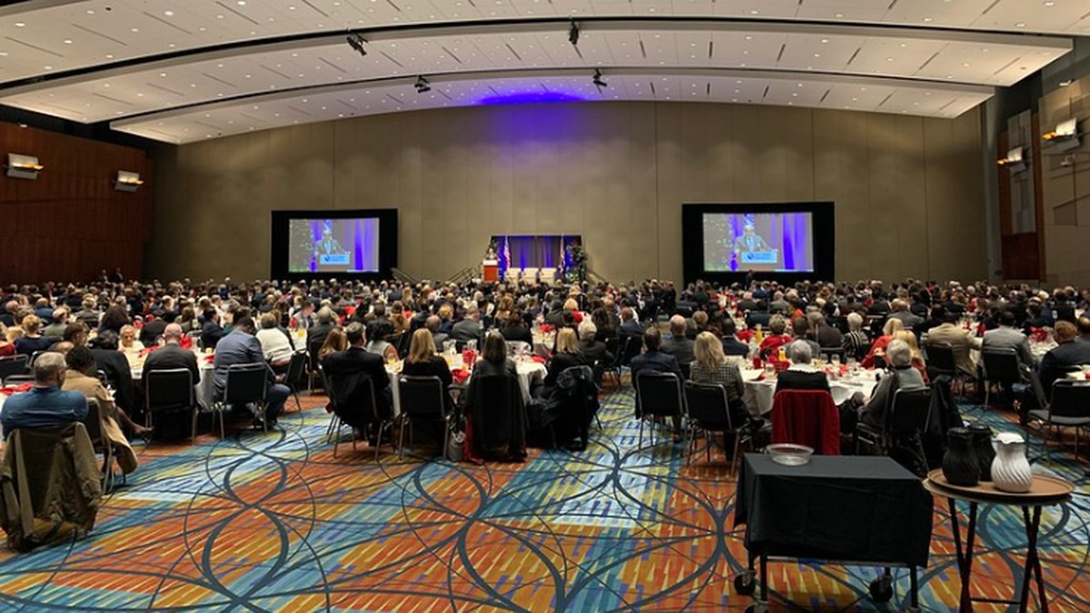The 2020 Commonwealth Prayer Breakfast was held at the Greater Richmond Convention Center. | Photo: Connor Lobb/VCU CNS
