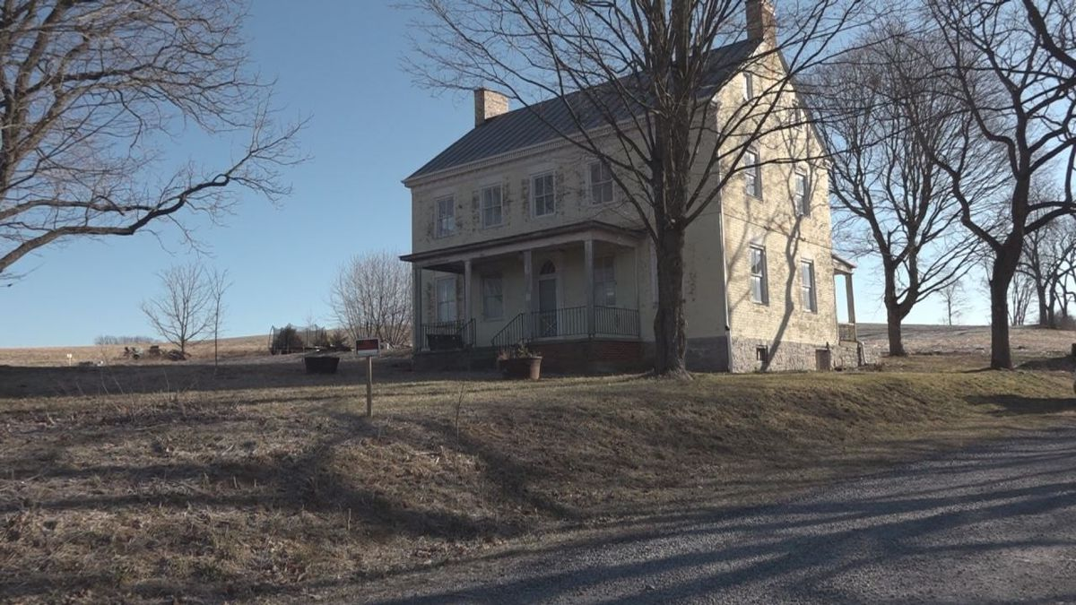 The Lincoln Homestead sits at 7884 Harpine Highway in Linville | Photo: WHSV