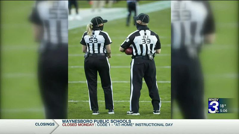 Super Bowl female official makes 'Herstory,' local refs cheer her on