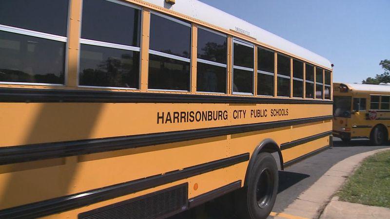 Harrisonburg school leaders discuss walk zones.