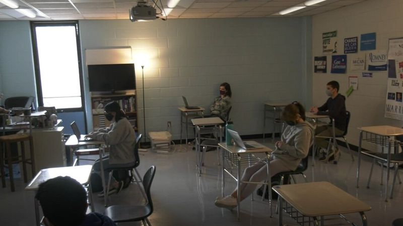 Albemarle County classroom