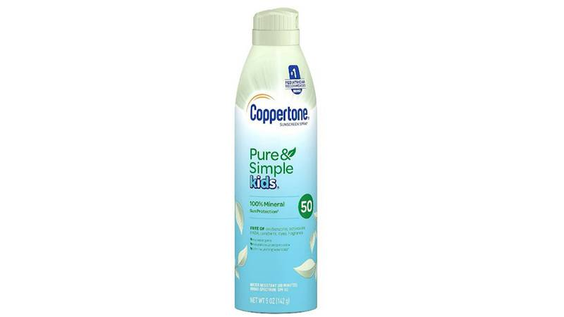 Coppertone is recalling certain lots of its aerosol sunscreen