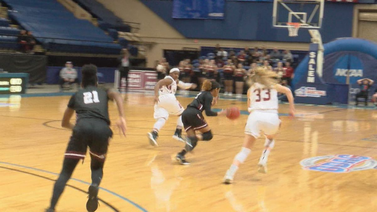 The Bridgewater College women's basketball team lost to Roanoke College, 85-58, Thursday night in the quarterfinals of the ODAC Tournament at Salem Civic Center.
