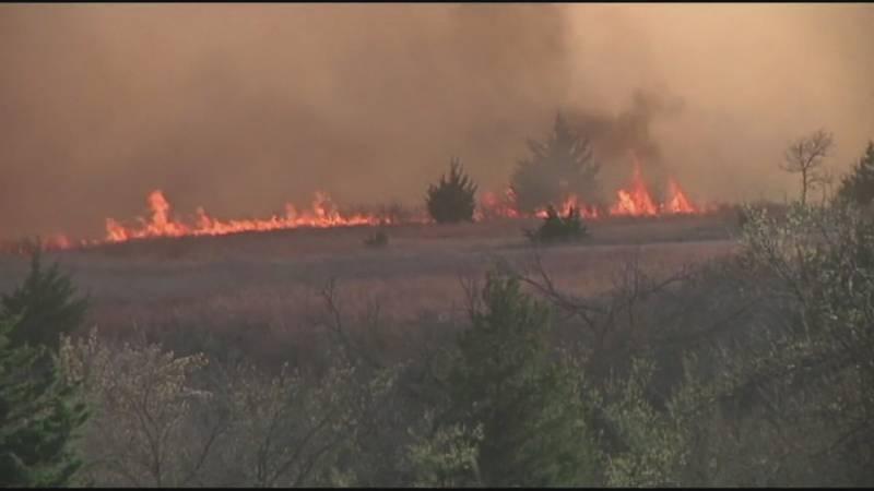 Fall wildfire season lasts from October 15th thru November 30th