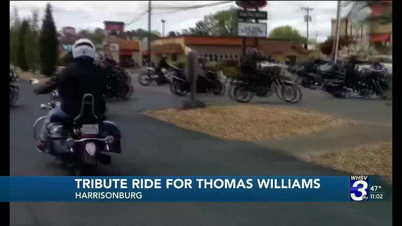 Tribute Ride for Thomas Williams