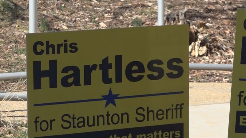 Chris Hartless announces Staunton Sheriff campaign