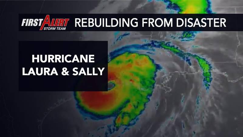 Hurricane Laura and Sally greatly impacted the Gulf Coast.