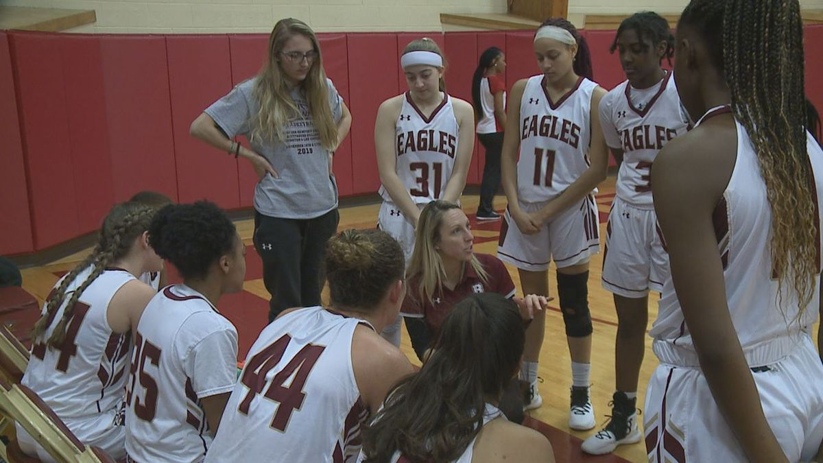 The Bridgewater College women's basketball team defeated Virginia Wesleyan, 77-47, Wednesday night for the Eagles' sixth straight win.