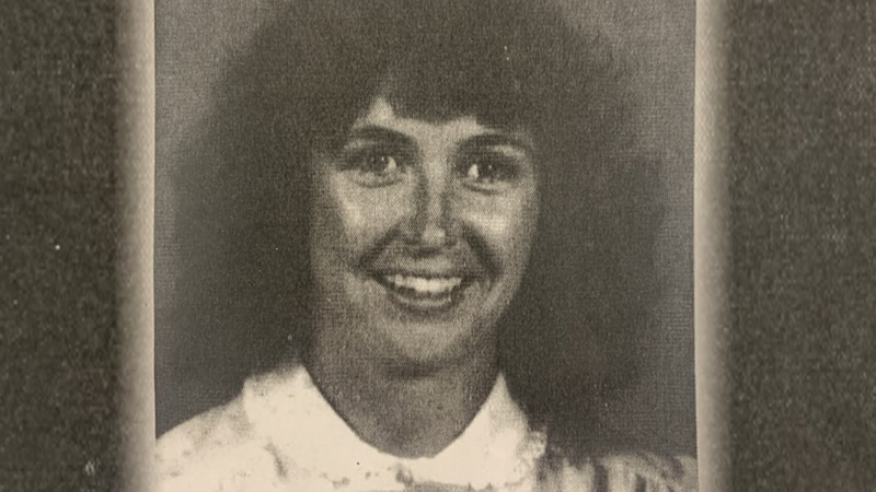 Photo of Kelly Bergh Dove near the time she went missing in 1982