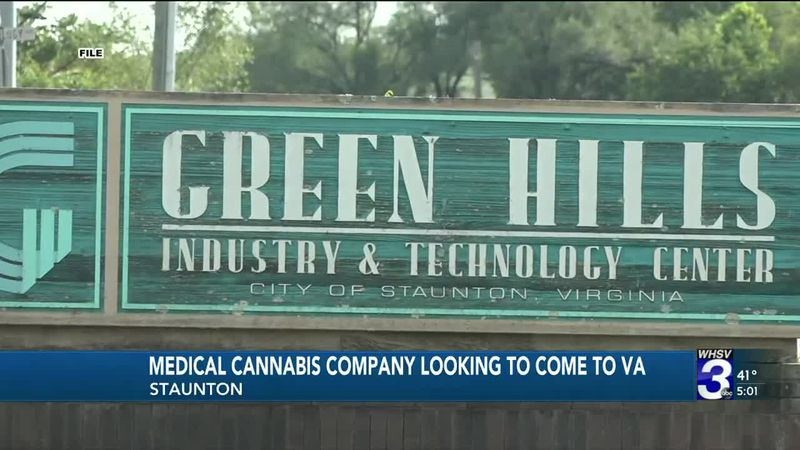 Medical cannabis production company looking to open a facility in Staunton