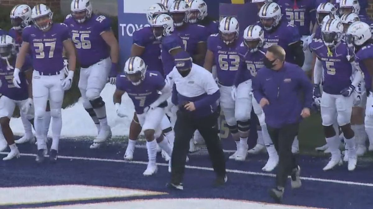 Saturday's college football game between William & Mary and James Madison has been postponed.