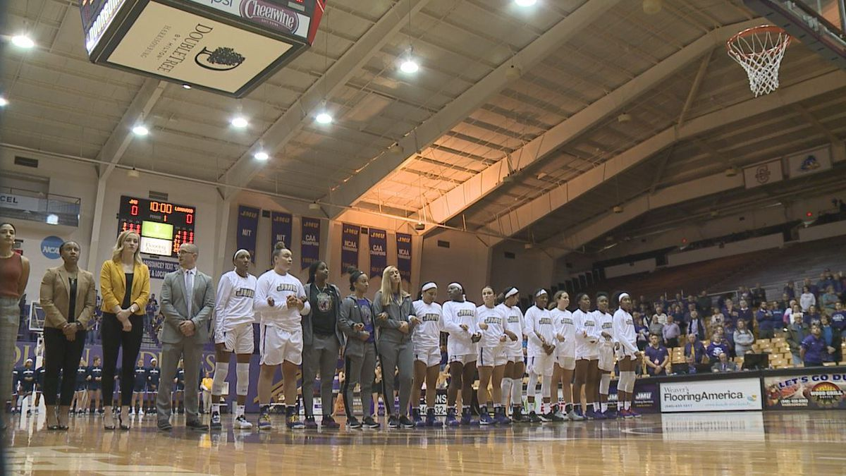 The James Madison women's basketball team defeated Villanova, 56-52, Saturday evening.