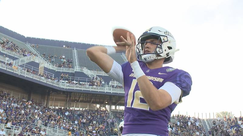 Cole Johnson is making the most of his final season with the James Madison football team.